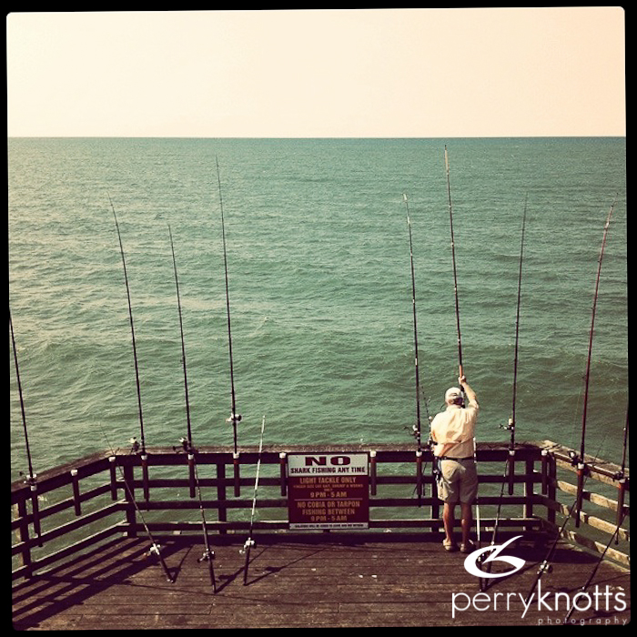 Bogue nc fishing pier perry knotts photography st for St augustine fishing pier